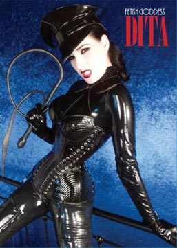 Fetish Goddess Dita  book