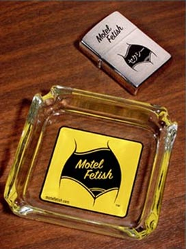 Motel Fetish zippo lighter and ashtray