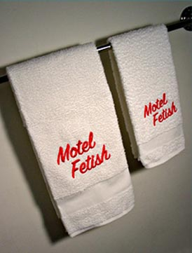 Motel Fetish hand towels
